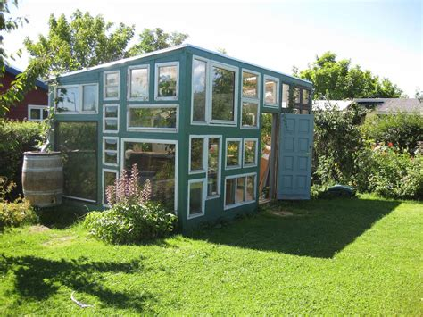houses with small windows tiny house built with recycled windows