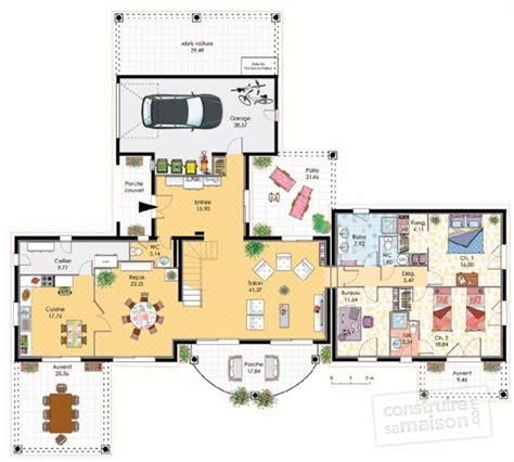 architecte d intérieur brest 3127 plan de maison plain pied trecobat ventana