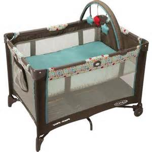 baby rolling in crib portable playard rolling crib infant baby travel furniture