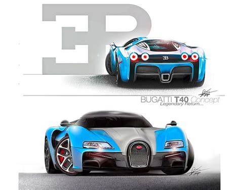 bugatti ettore concept bugatti ettore t40 2 0 concept daniele pelligra project