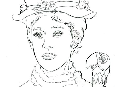 mary poppins coloring pages coloring home