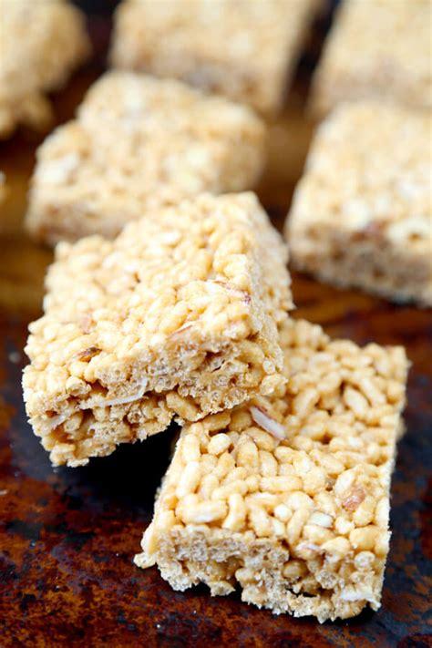 Crunchy Rice Crispy related keywords suggestions for healthy rice krispy treats