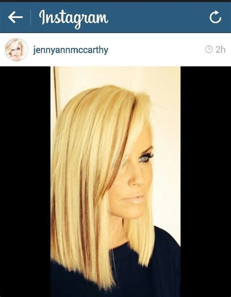 does jenny mccarthy have hair extensions best 25 jenny mccarthy bob ideas on pinterest