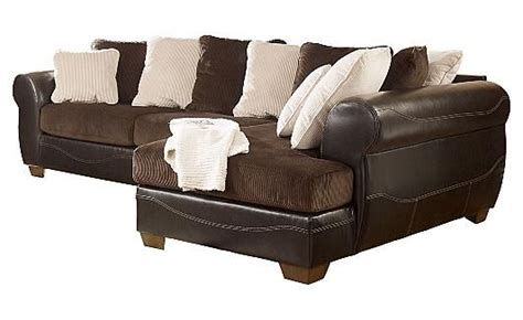 ashley furniture chocolate sectional victory chocolate sectional my home needs pinterest
