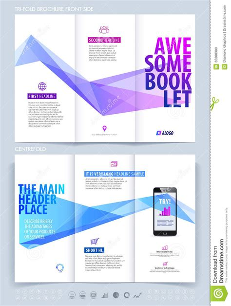 booklet layout template business brochure flyer and booklet design layout