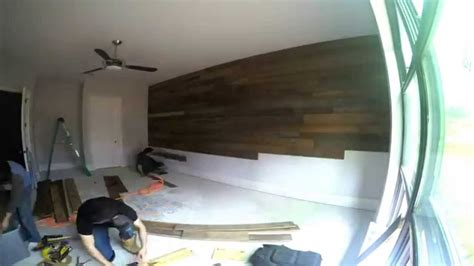 Where To Buy Shiplap For Walls Reclaimed Shiplap Wall Time Lapse