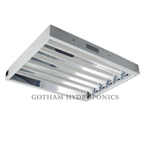 T5ho Light Fixture T5 Ho Grow Light 24 Quot 2 Foot 6 Bulb L Fixture Fluorescent Veg 3000k 6500k Ebay