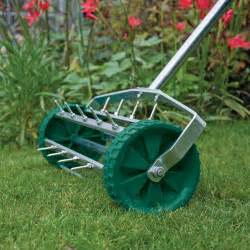 draper 83983 rolling lawn aerator with 450mm spiked drum ebay