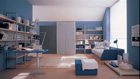 kids study room idea interior exterior plan blue theme for kid s study room