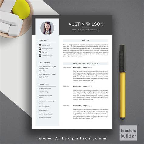 professional cv form pdf