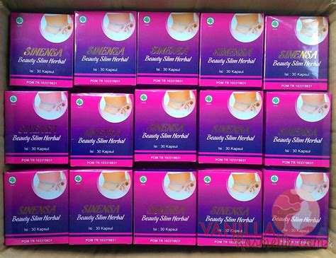 Sinensa Herbal Slim sinensa slim herbal obat herbal pelangsing