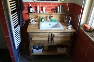 meuble salle de bain touch du bois