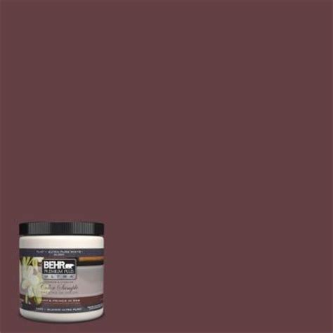 behr premium plus ultra 8 oz 120f 7 plum raisin interior exterior paint sle 120f 7u the