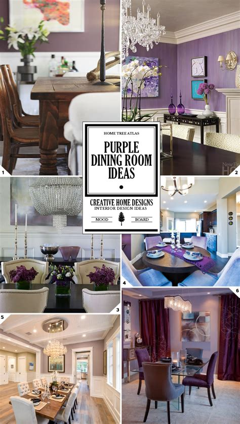 purple dining rooms color guide purple dining room decor ideas home tree atlas