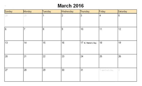 easter 2016 calendar with holidays uk march 2017 calendar easter weekly calendar template