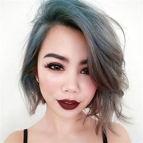 even out asymmetrical bob 40 best looking asymmetrical haircuts for every face shape