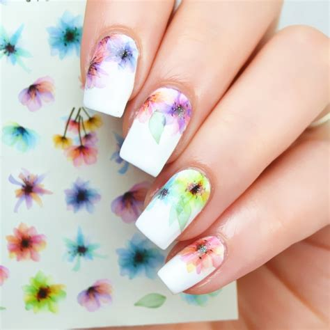 Nail Water Decals Transfers