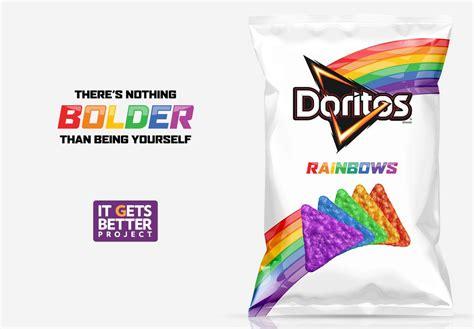Cooler Bag Rainbow 2 doritos introduces rainbow doritos to help the lgbt