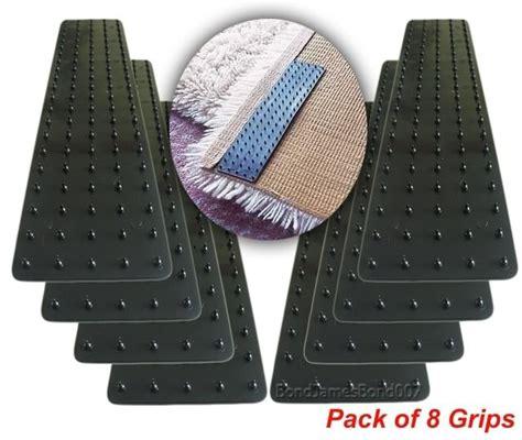 Rug Grips For Carpet 8 x mat grips non slip slide anti skid carpet rug