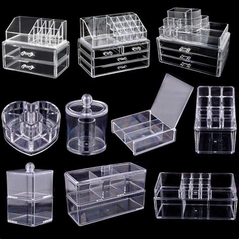 Clear Acrylic Drawer Organizer by Acrylic Clear Make Up Organiser Cosmetic Display Jewellery