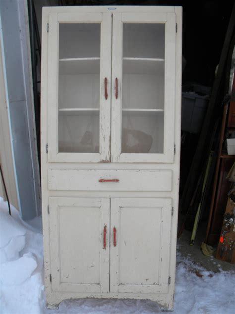 vintage antique   kitchen cabinet cupboard pantry