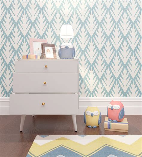 Stencils For Rooms by Floral Pattern Stencil For Room Decor Scandinavian