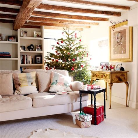 living room step inside this pretty cotswolds cottage