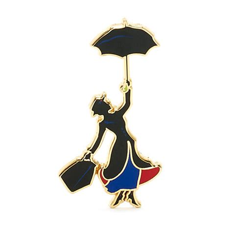 mary poppins brooch pin mary poppins limited edition pin