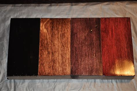 From the left: Minwax Polyshades Black (not going to