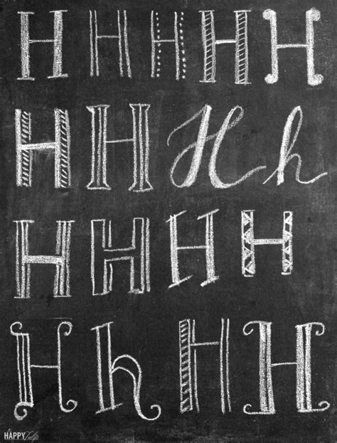 Lettering Tips For Creation Of a complete s guide to chalk lettering tips