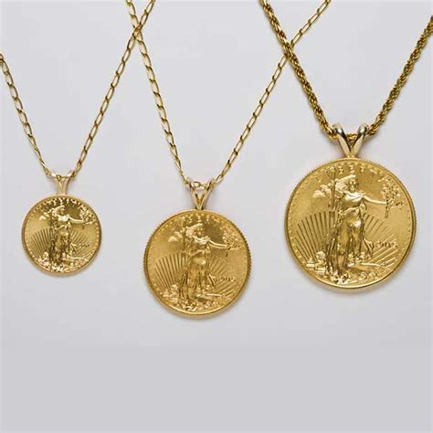 22k standing liberty coin necklace california collectors