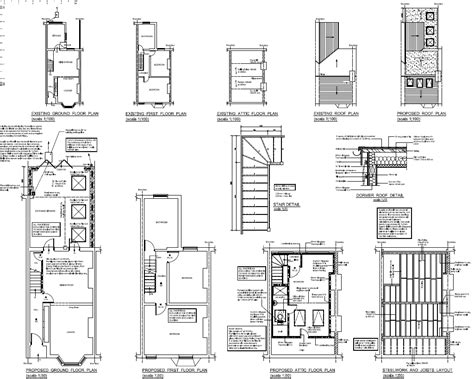 loft conversion floor plans loft conversion plans for victorian terraced house loft