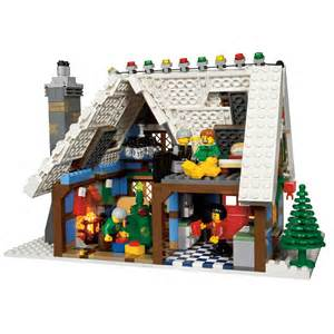 lego winter cottage lego winter cottage 10229