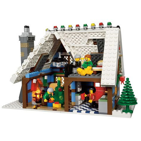 lego winter village cottage 10229