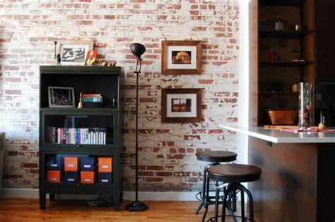 my home design nyc 質感を楽しむ レンガ壁紙を活用したおしゃれなインテリア33選