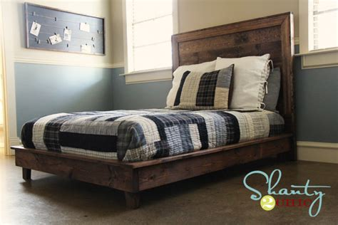 easy diy platform bed ana white hailey platform bed diy projects