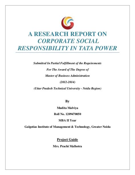 dissertation on corporate social responsibility dissertation on tata csr