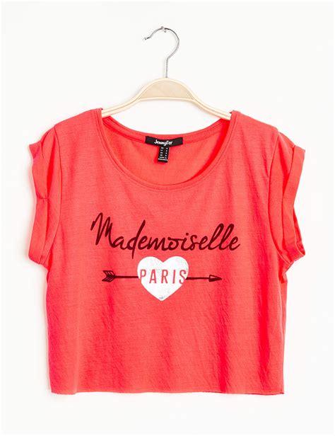 T Shirt L A P D t shirt orange fluo femme p l d m 900246 150 t shirt a