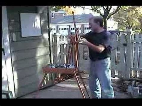 french easel youtube  woodworking project