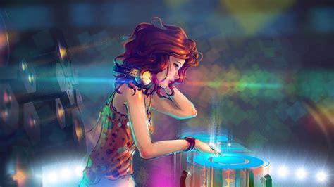 wallpaper anime dj 2048x1152 anime dj girl 2048x1152 resolution hd 4k