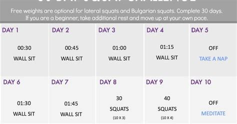 5 Day Detox Acecept Meridian Ins by 30 Day Squat 30 Day Squat Challenge And Squats On
