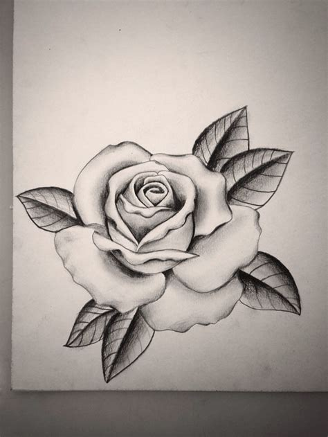 how to tattoo a rose collection of 25