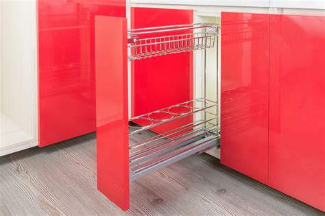 Kitchen Cabinet Types 5 types of baskets to organise kitchen cabinets home