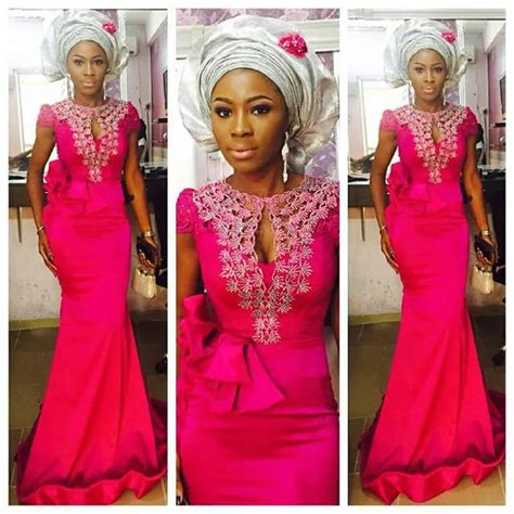 lastest aseobi colours check out this long gown aso ebi lace styles http www