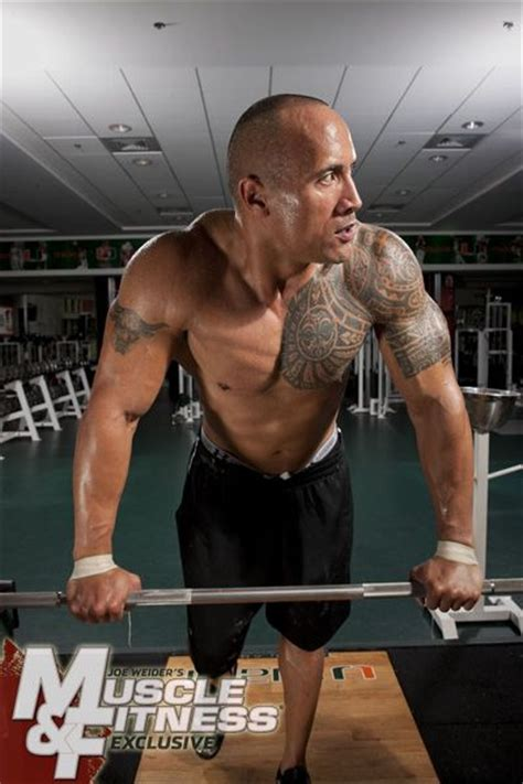 dwayne johnson bench dwayne quot the rock quot johnson from muscle fitness magazine