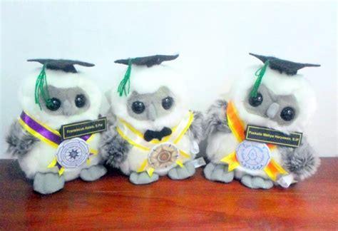 Boneka Wisuda Owl toko boneka tiga serangkai owl wisuda uns stipram dan ugm