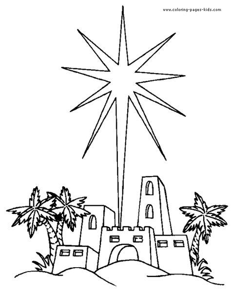 Of Bethlehem Coloring Page of bethlehem color page religious color page coloring pages for