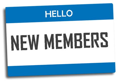 welcoming new church members