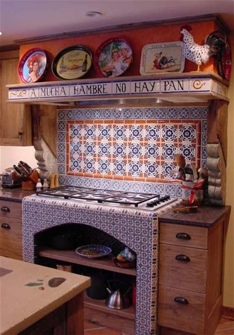 mexican kitchens are the most beautiful in the world the decorating with mexican talavera tile beautiful stove