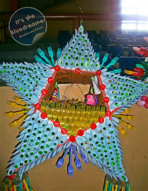 parol filipino recycled recycled lanterns parol at bangenge festival 2015 it s me bluedreamer